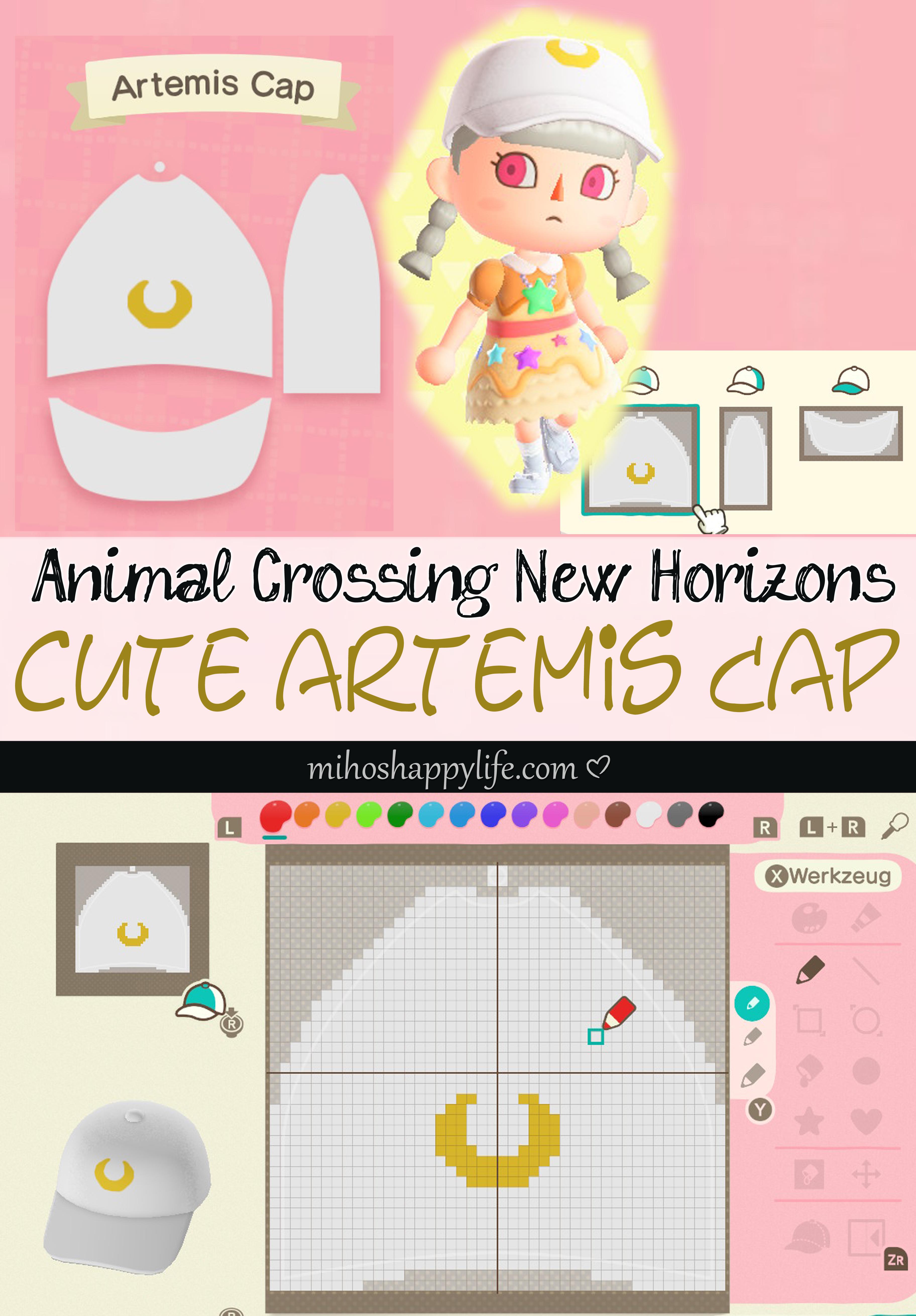 mihoshappylife-animal-crossing-sailormoon-artemis-cap